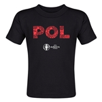 Poland Euro 2016 Elements Toddler T-Shirt (Black)