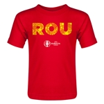 Romania Euro 2016 Elements Toddler T-Shirt (Red)