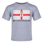 Northern Ireland Euro 2016 Fashion Toddler T-Shirt (Grey)