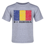 Romania Euro 2016 Fashion Toddler T-Shirt (Grey)