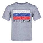 Russia Euro 2016 Fashion Toddler T-Shirt (Grey)