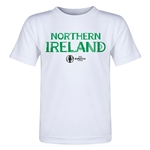 Northern Ireland Euro 2016 Core Toddler T-Shirt (White)
