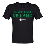 Northern Ireland Euro 2016 Core Toddler T-Shirt (Black)