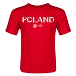 Poland Euro 2016 Core Toddler T-Shirt (Red)