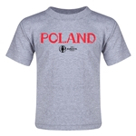 Poland Euro 2016 Core Toddler T-Shirt (Grey)