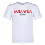 Romania Euro 2016 Core Toddler T-Shirt (White)