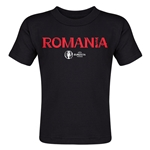 Romania Euro 2016 Core Toddler T-Shirt (Black)