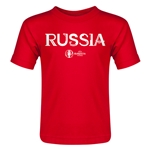 Russia Euro 2016 Core Toddler T-Shirt (Red)