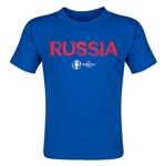 Russia Euro 2016 Core Toddler T-Shirt (Royal)