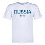 Russia Euro 2016 Core Toddler T-Shirt (White)