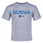 Russia Euro 2016 Core Toddler T-Shirt (Grey)