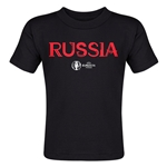 Russia Euro 2016 Core Toddler T-Shirt (Black)