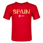 Spain Euro 2016 Core Toddler T-Shirt (Red)