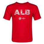Albania Euro 2016 Elements Toddler T-Shirt (Red)