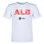 Albania Euro 2016 Elements Toddler T-Shirt (White)