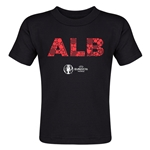 Albania Euro 2016 Elements Toddler T-Shirt (Black)