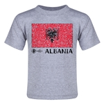 Albania Euro 2016 Fashion Toddler T-Shirt (Grey)