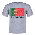 Portugal Euro 2016 Fashion Toddler T-Shirt (Grey)