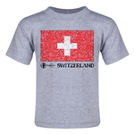 Switzerland Euro 2016 Fashion Toddler T-Shirt (Grey)