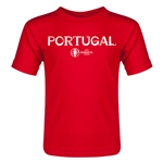 Portugal Euro 2016 Core Toddler T-Shirt (Red)
