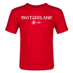 Switzerland Euro 2016 Core Toddler T-Shirt (Red)