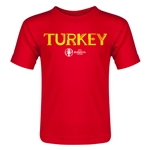 Turkey Euro 2016 Core Toddler T-Shirt (Red)