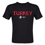Turkey Euro 2016 Core Toddler T-Shirt (Black)