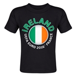 Ireland Euro 2016 Fashion Toddler T-Shirt (Black)