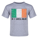 Ireland Euro 2016 Fashion Toddler T-Shirt (Grey)