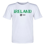 Ireland Euro 2016 Core Toddler T-Shirt (White)