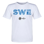 Sweden Euro 2016 Elements Toddler T-Shirt (White)