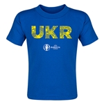 Ukraine Euro 2016 Elements Toddler T-Shirt (Royal)