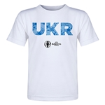 Ukraine Euro 2016 Elements Toddler T-Shirt (White)