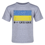 Ukraine Euro 2016 Fashion Toddler T-Shirt (Grey)