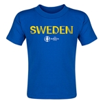 Sweden Euro 2016 Core Toddler T-Shirt (Royal)