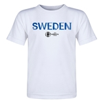 Sweden Euro 2016 Core Toddler T-Shirt (White)
