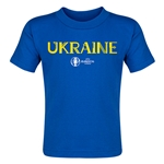 Ukraine Euro 2016 Core Toddler T-Shirt (Royal)