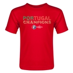 Portugal UEFA Euro 2016 Champions Toddler T-Shirt (Red)