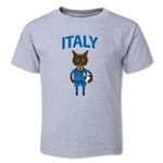 Italy Animal Mascot Toddler T-Shirt (Grey)