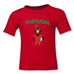 Portugal Animal Mascot Toddler T-Shirt (Red)