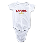 Canada CONCACAF Gold Cup 2015 Infant Big Logo Onesie (White)