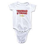 Trinidad & Tobago CONCACAF Gold Cup 2015 Infant Big Logo Onesie (White)