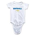 Guatemala CONCACAF Gold Cup 2015 Infant Big Logo Onesie (White)