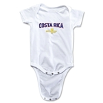 Costa Rica CONCACAF Gold Cup 2015 Infant Big Logo Onesie (White)