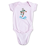 1990 FIFA World Cup Ciao Mascot Onesie (Pink)