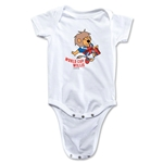 1966 FIFA World Cup Willie Mascot Logo Onesie (White)