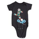 1990 FIFA World Cup Ciao Mascot Logo Onesie (Black)