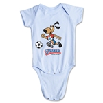 1994 FIFA World Cup Striker Mascot Logo Onesie (Sky)