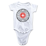 1954 FIFA World Cup Emblem Onesie (White)