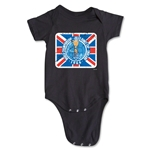 1966 FIFA World Cup Emblem Onesie (Black)